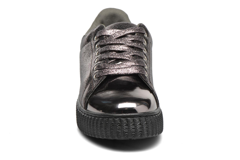 Baskets I Love Shoes THOAST Argent vue portées chaussures