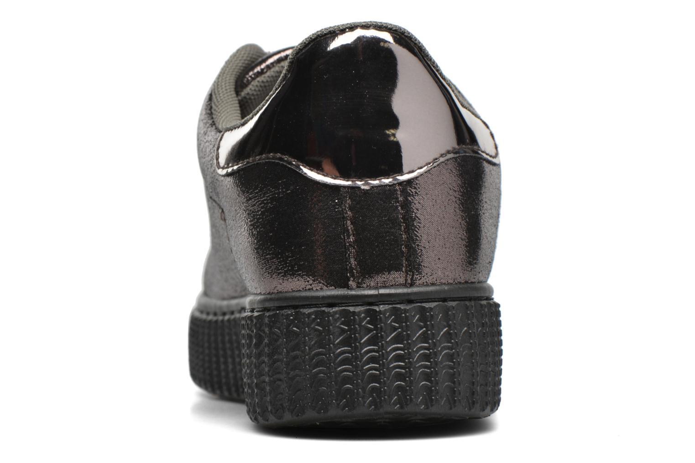 Baskets I Love Shoes THOAST Argent vue droite