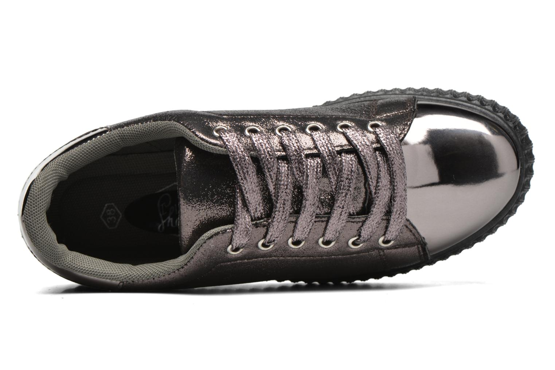 Baskets I Love Shoes THOAST Argent vue gauche