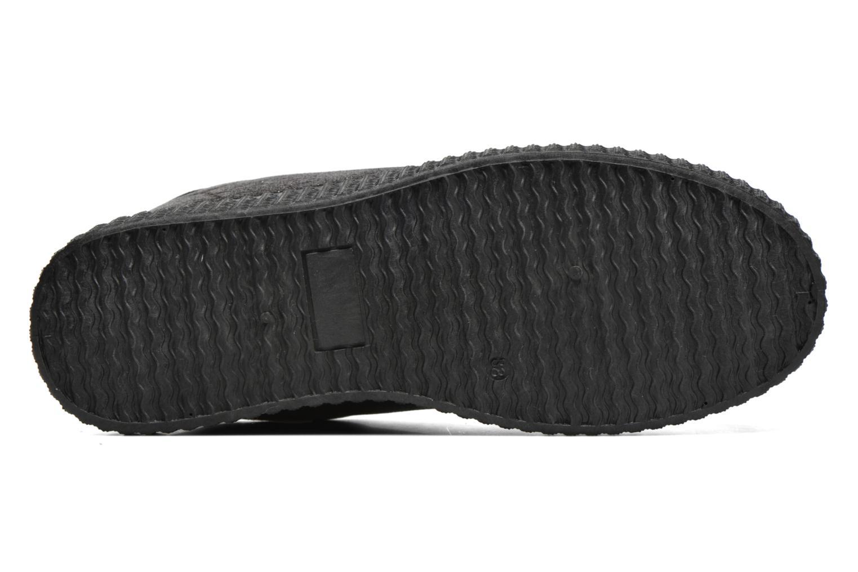 Baskets I Love Shoes THOAST Argent vue haut