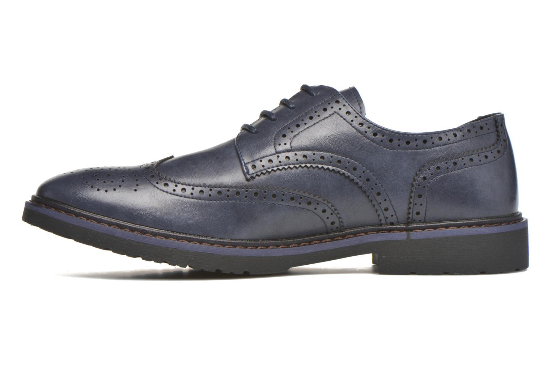 Chaussures à lacets I Love Shoes THEM Bleu vue face