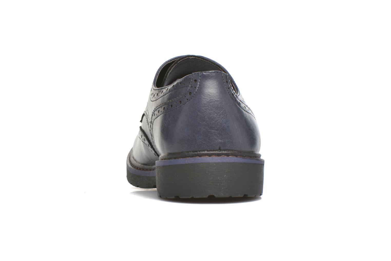 Schnürschuhe I Love Shoes THEM blau ansicht von rechts