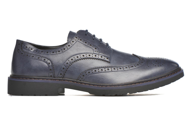 Schnürschuhe I Love Shoes THEM blau ansicht von hinten