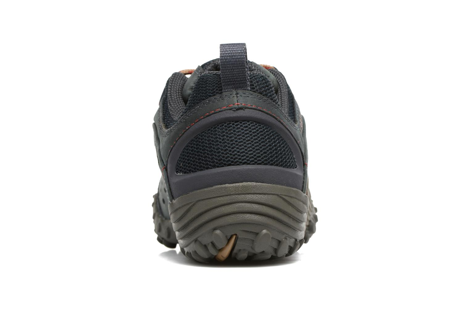 Sport shoes Merrell Intercept Blue view from the right