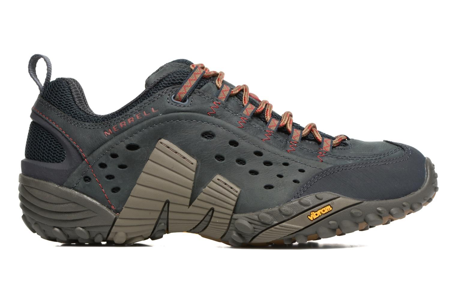 Sport shoes Merrell Intercept Blue back view