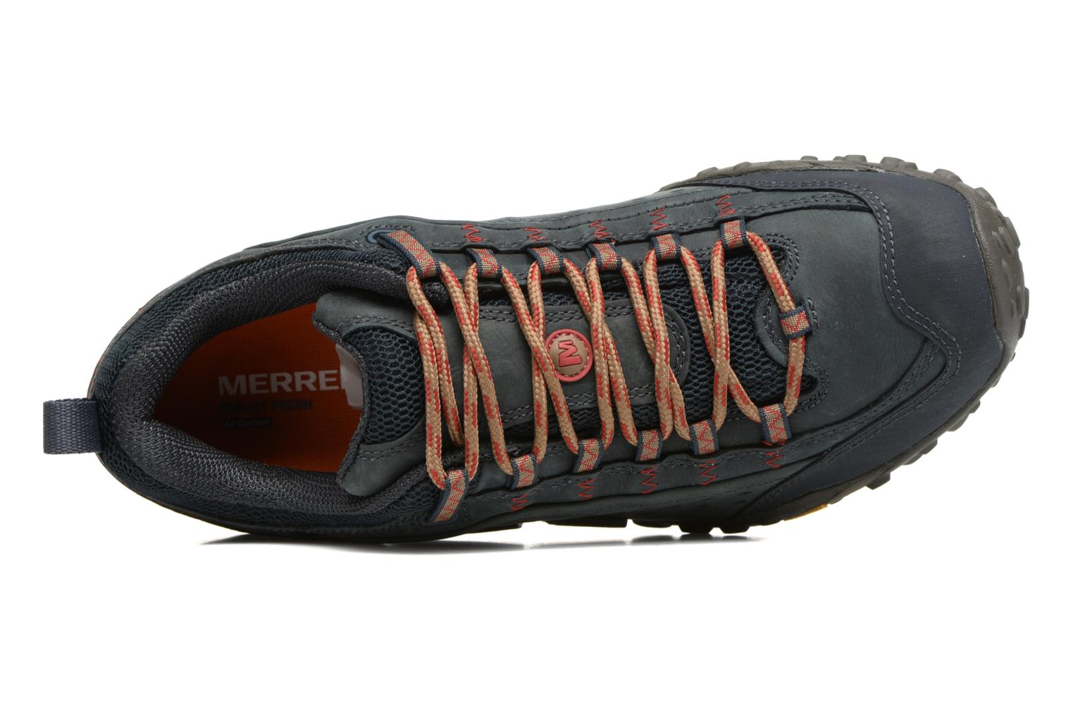 Sport shoes Merrell Intercept Blue view from the left