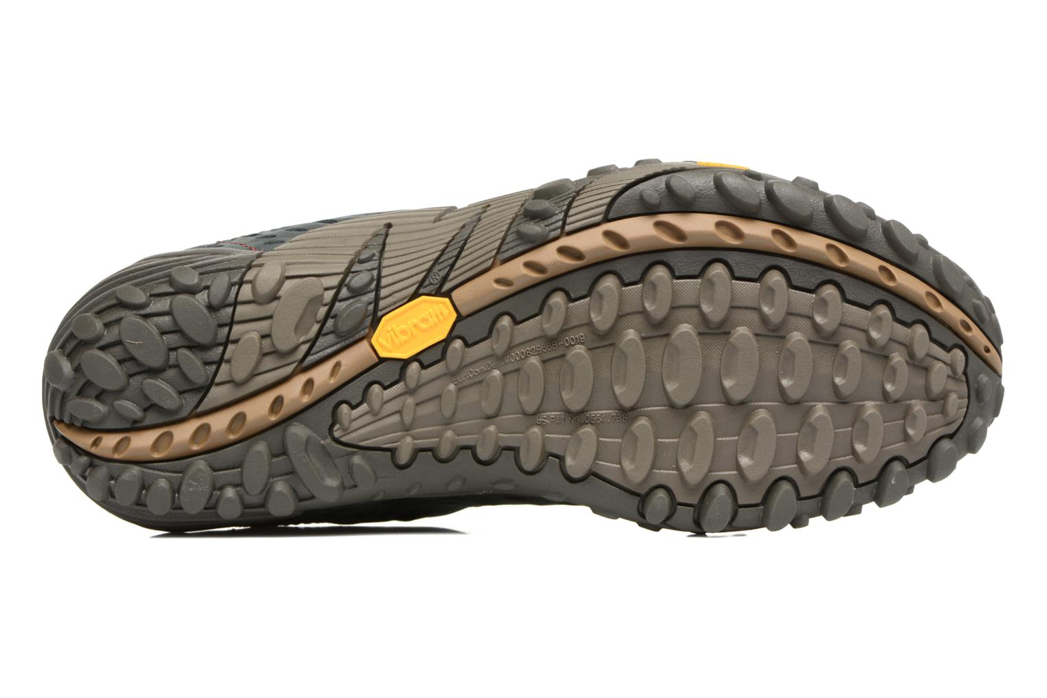Sport shoes Merrell Intercept Blue view from above
