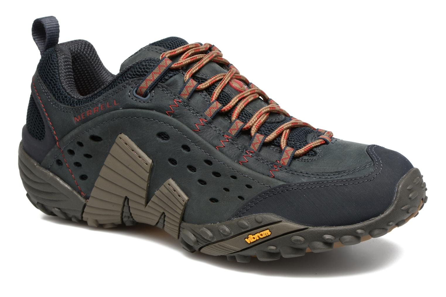 Sport shoes Merrell Intercept Blue detailed view/ Pair view