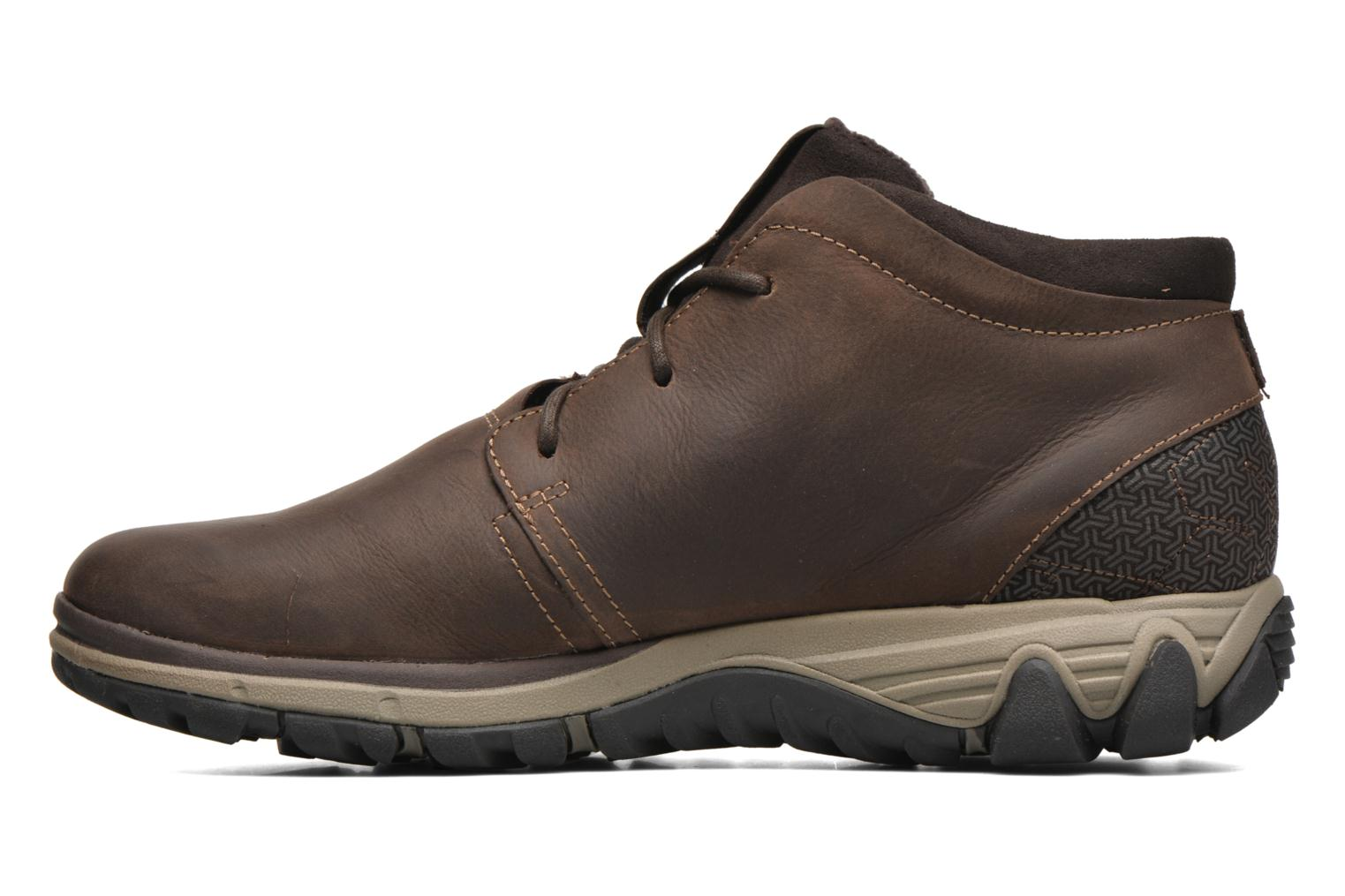Lace-up shoes Merrell All Out Blazer Chukka North Brown front view