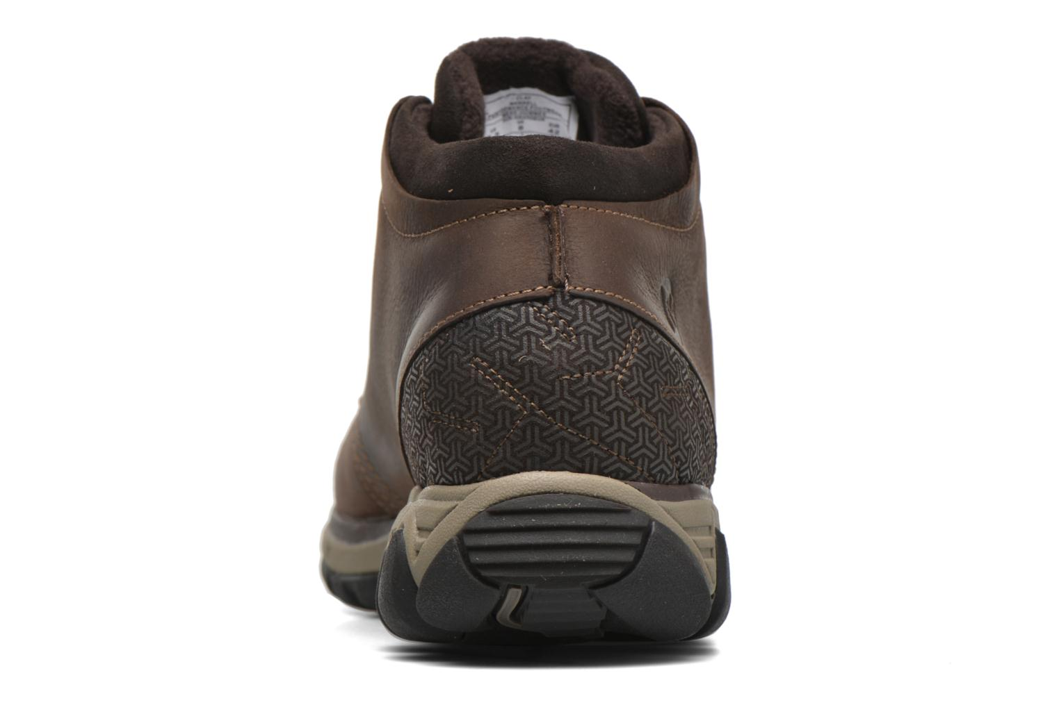 Lace-up shoes Merrell All Out Blazer Chukka North Brown view from the right