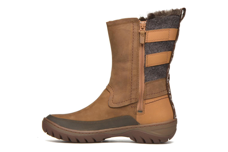 Chaussures de sport Merrell Sylva Mid Buckle Waterproof Marron vue face