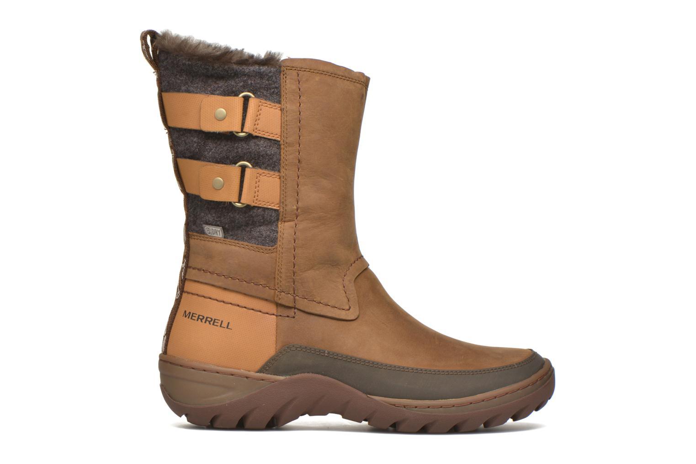 Chaussures de sport Merrell Sylva Mid Buckle Waterproof Marron vue derrière