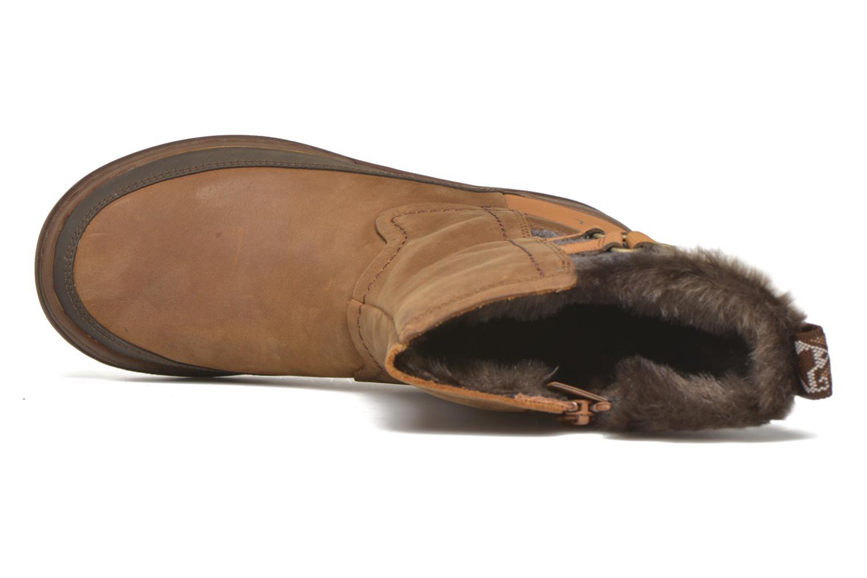 Chaussures de sport Merrell Sylva Mid Buckle Waterproof Marron vue gauche