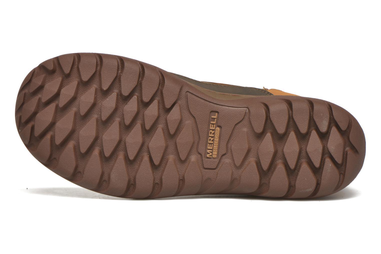 Chaussures de sport Merrell Sylva Mid Buckle Waterproof Marron vue haut