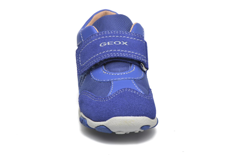 Baskets Geox B Balu' Boy B5436D Bleu vue portées chaussures