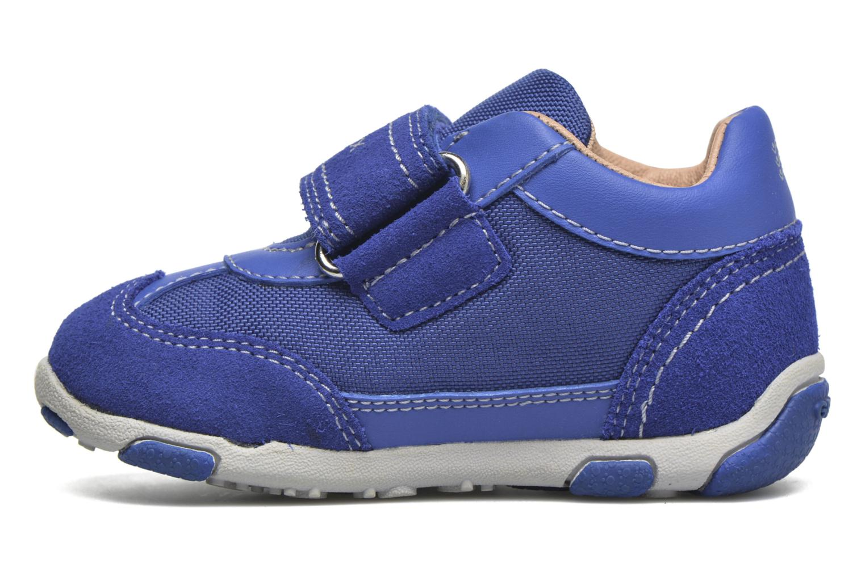 Sneakers Geox B Balu' Boy B5436D Blå se forfra