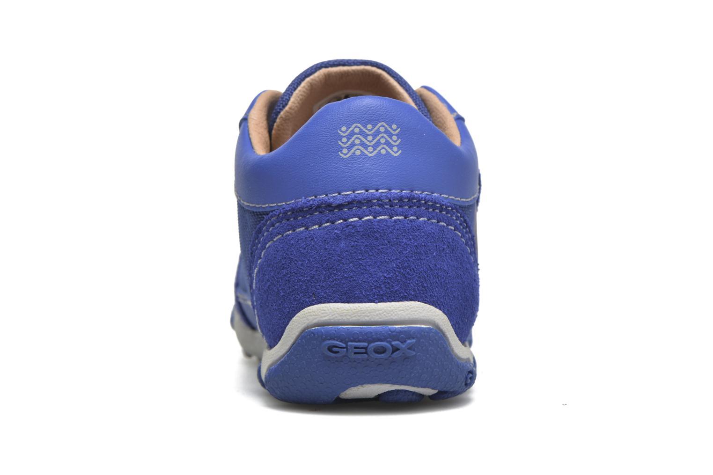 Baskets Geox B Balu' Boy B5436D Bleu vue droite