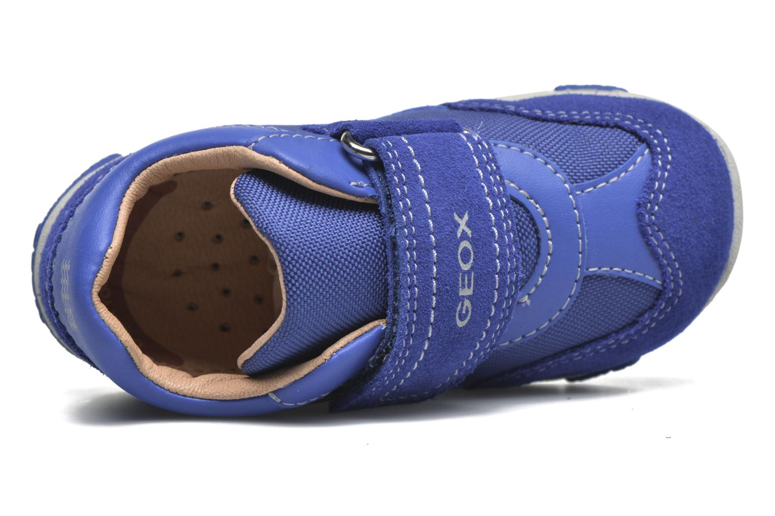 Trainers Geox B Balu' Boy B5436D Blue view from the left