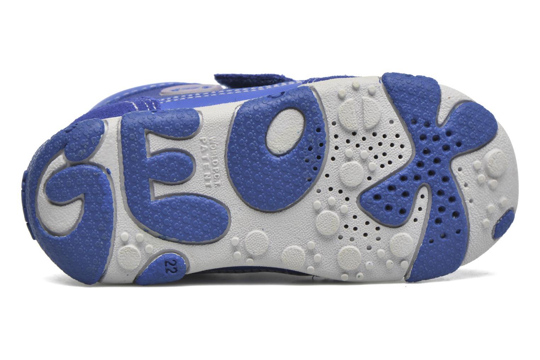 Baskets Geox B Balu' Boy B5436D Bleu vue haut