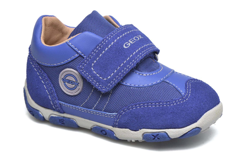Sneakers Geox B Balu' Boy B5436D Blå detaljeret billede af skoene