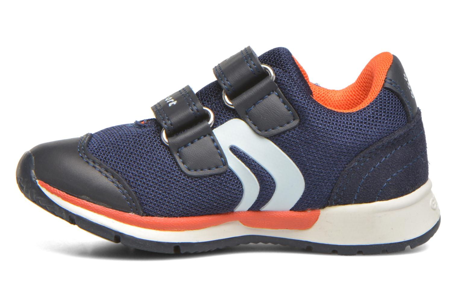 Trainers Geox B Teppei Boy B54S9C Blue front view