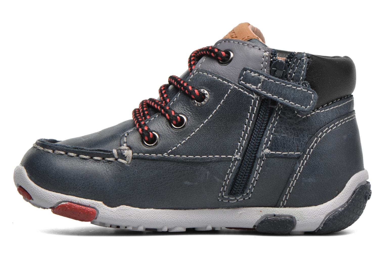 Sneakers Geox B Balu' Boy B5436B Blå bild från framsidan