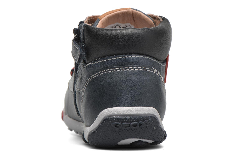 Sneakers Geox B Balu' Boy B5436B Blå Bild från höger sidan