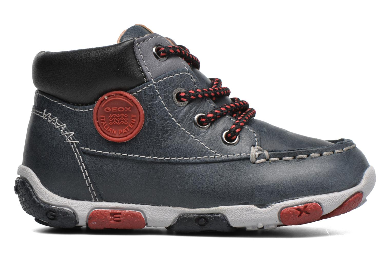 Sneaker Geox B Balu' Boy B5436B blau ansicht von hinten
