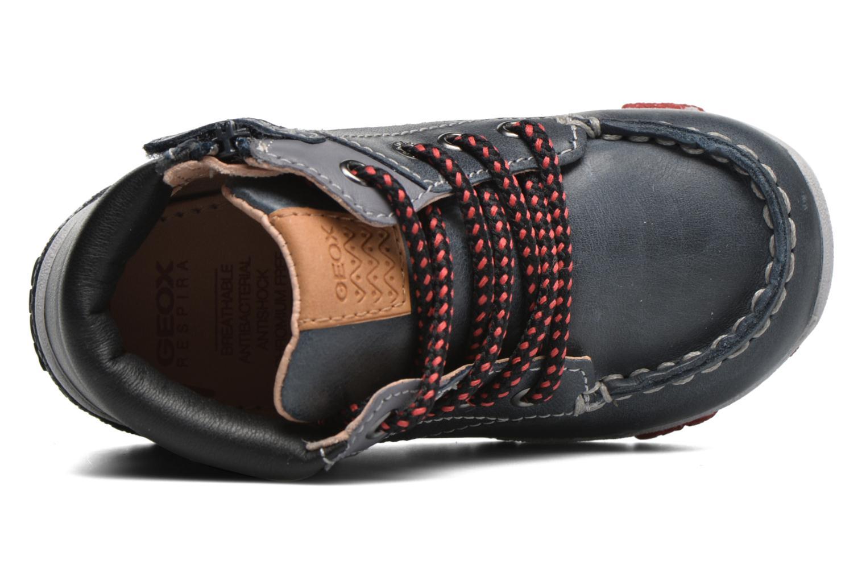 Sneakers Geox B Balu' Boy B5436B Blå bild från vänster sidan