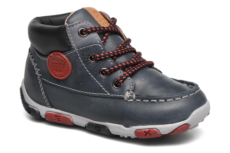 Sneakers Geox B Balu' Boy B5436B Blå detaljerad bild på paret