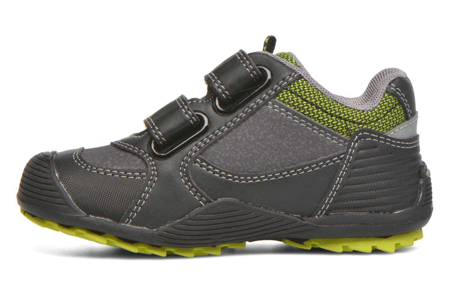 Trainers Geox Baby Savage B5424A Black front view
