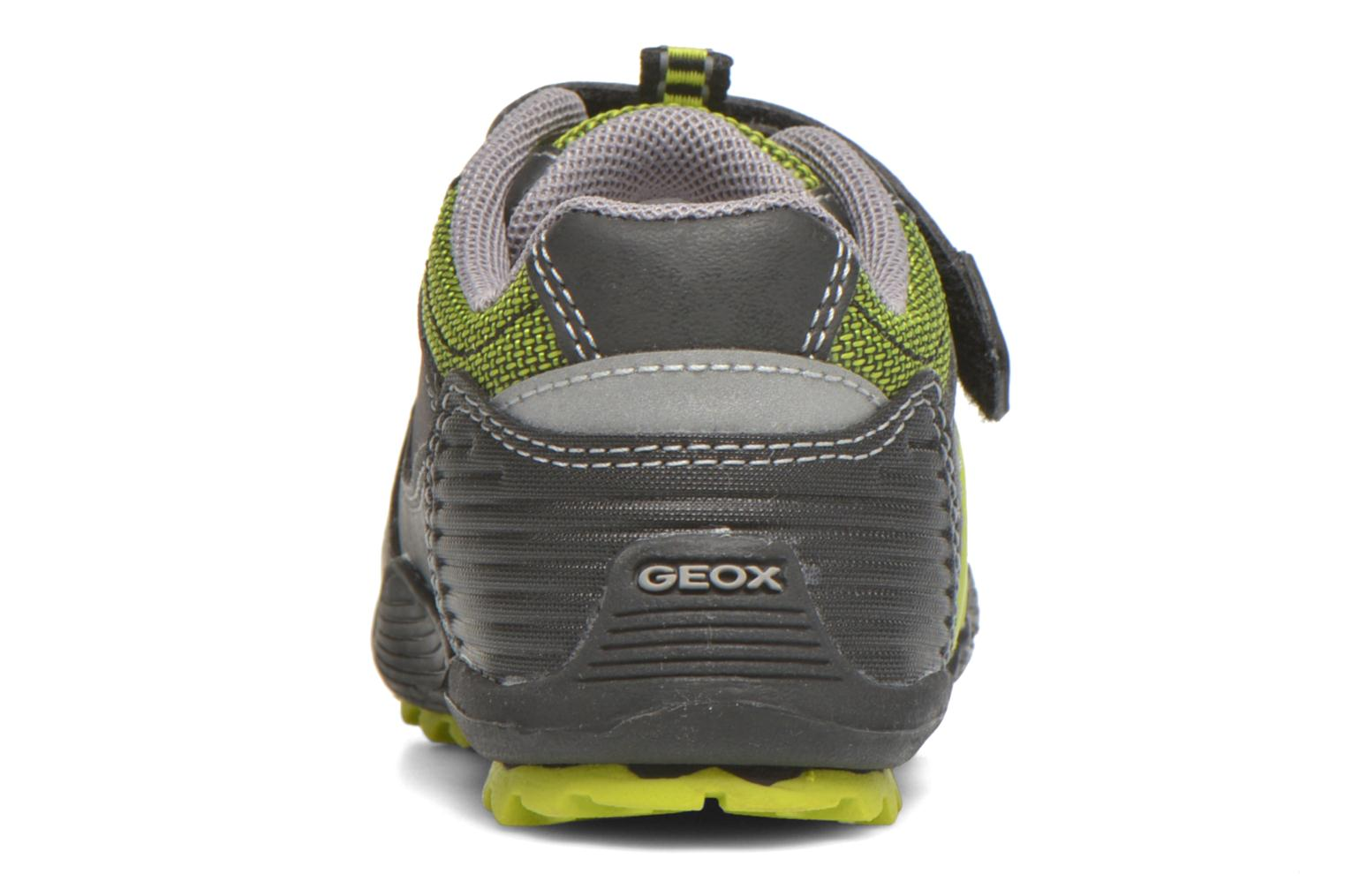 Trainers Geox Baby Savage B5424A Black view from the right