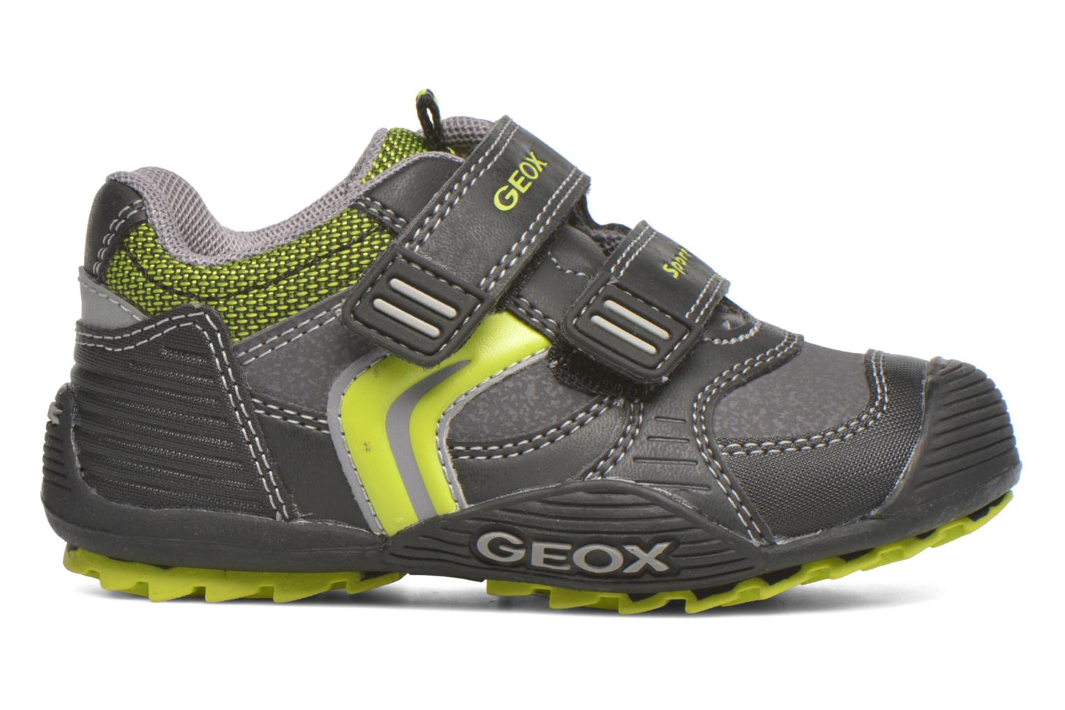 Trainers Geox Baby Savage B5424A Black back view