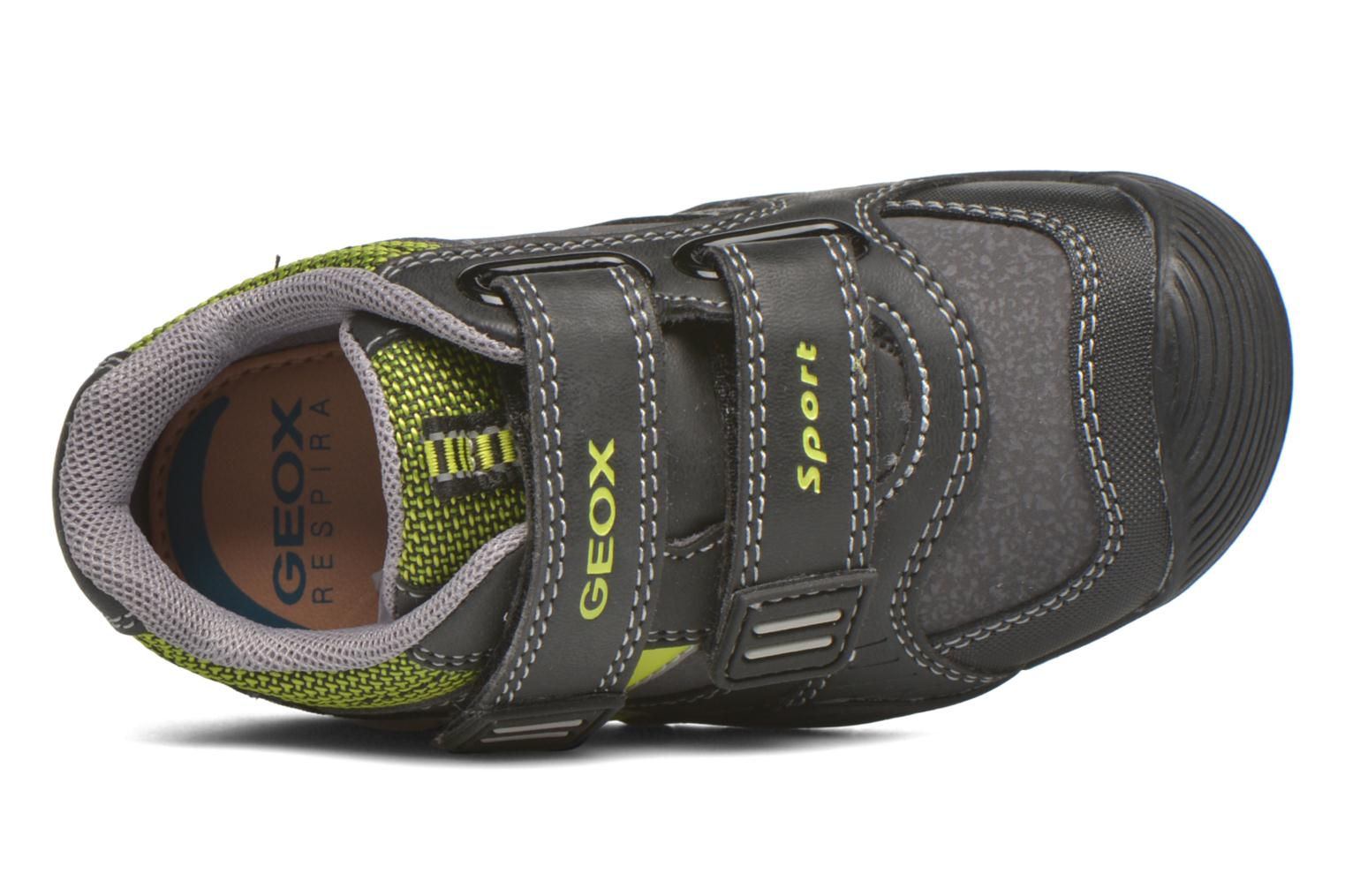 Sneakers Geox Baby Savage B5424A Nero immagine sinistra