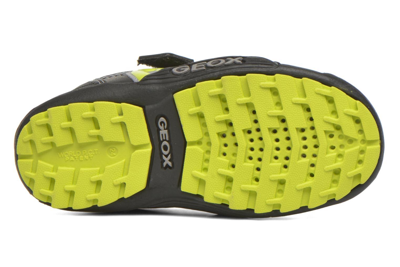 Sneakers Geox Baby Savage B5424A Nero immagine dall'alto