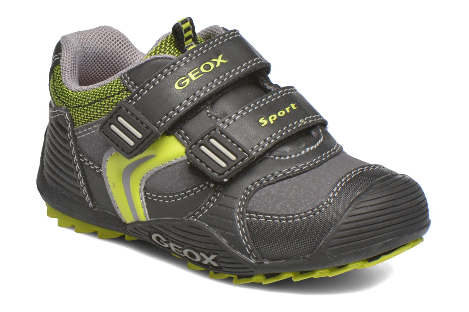 Trainers Geox Baby Savage B5424A Black detailed view/ Pair view