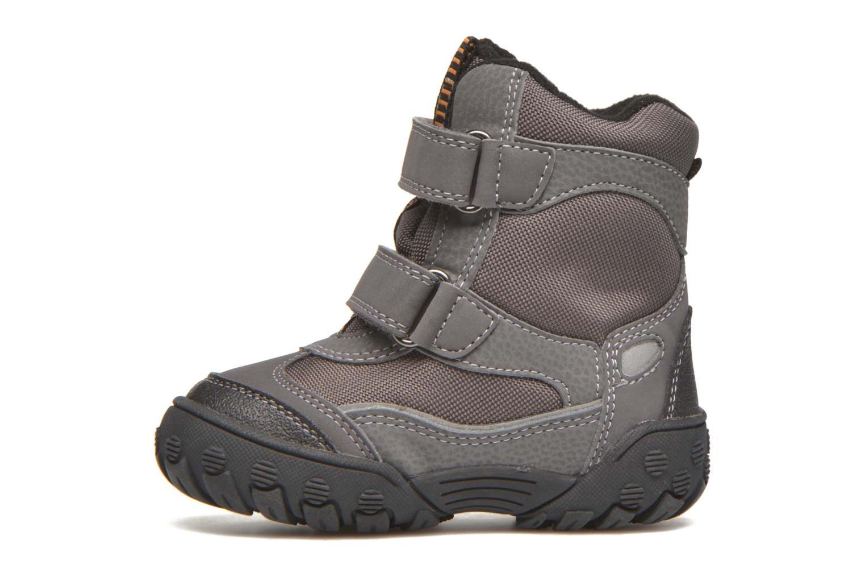 Boots en enkellaarsjes Geox B Gulp B Boy ABX B4402D Grijs voorkant