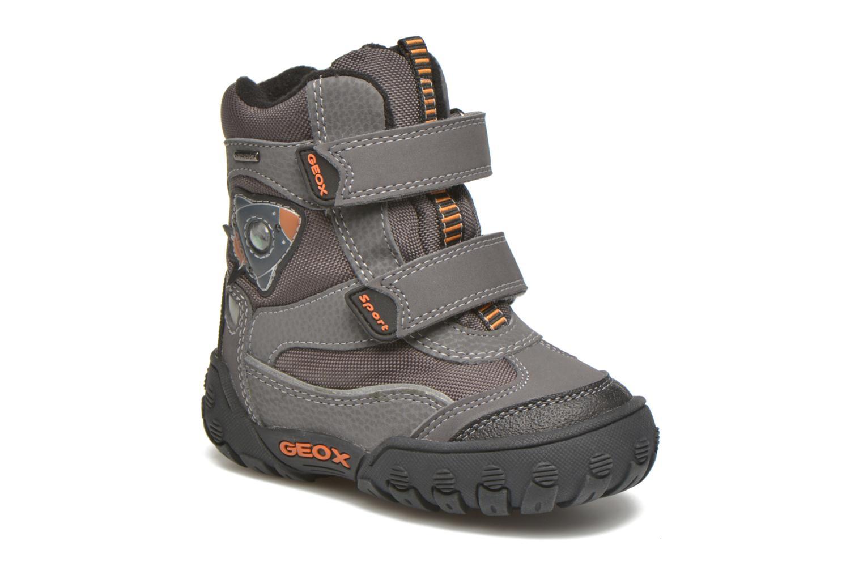 Boots en enkellaarsjes Geox B Gulp B Boy ABX B4402D Grijs detail