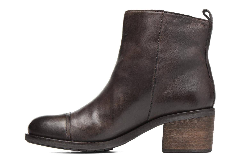Bottines et boots Geox D Kleoo D54N4D Marron vue face