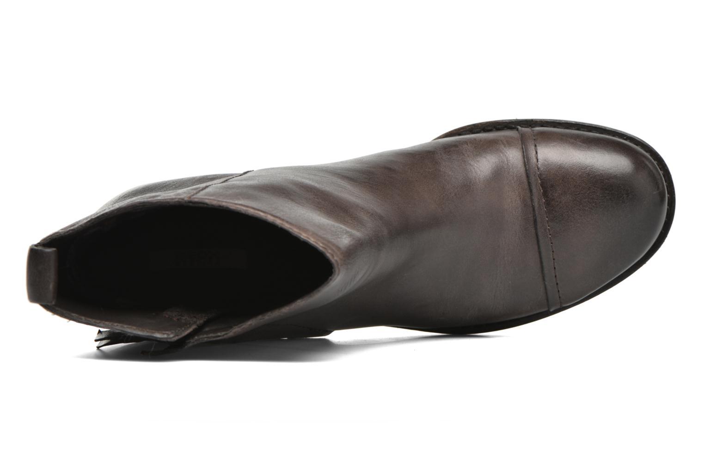 Bottines et boots Geox D Kleoo D54N4D Marron vue gauche