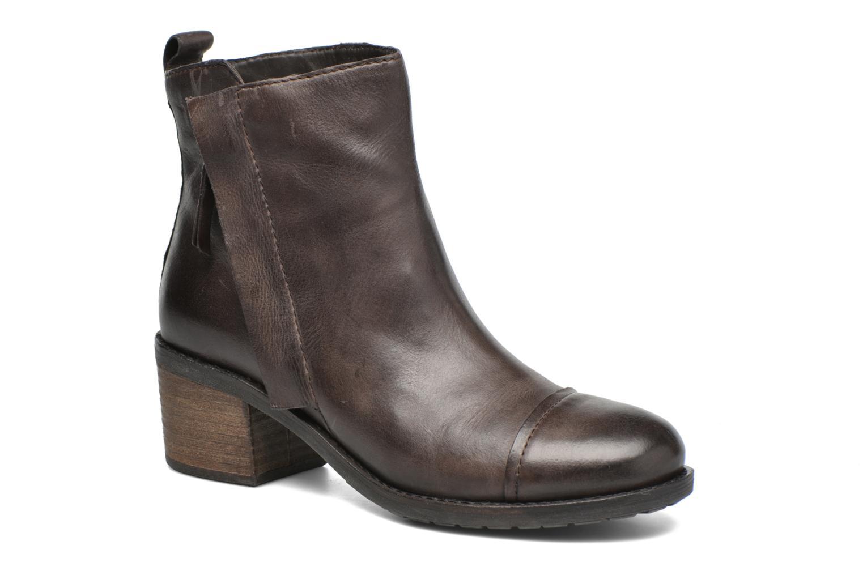 Bottines et boots Geox D Kleoo D54N4D Marron vue détail/paire