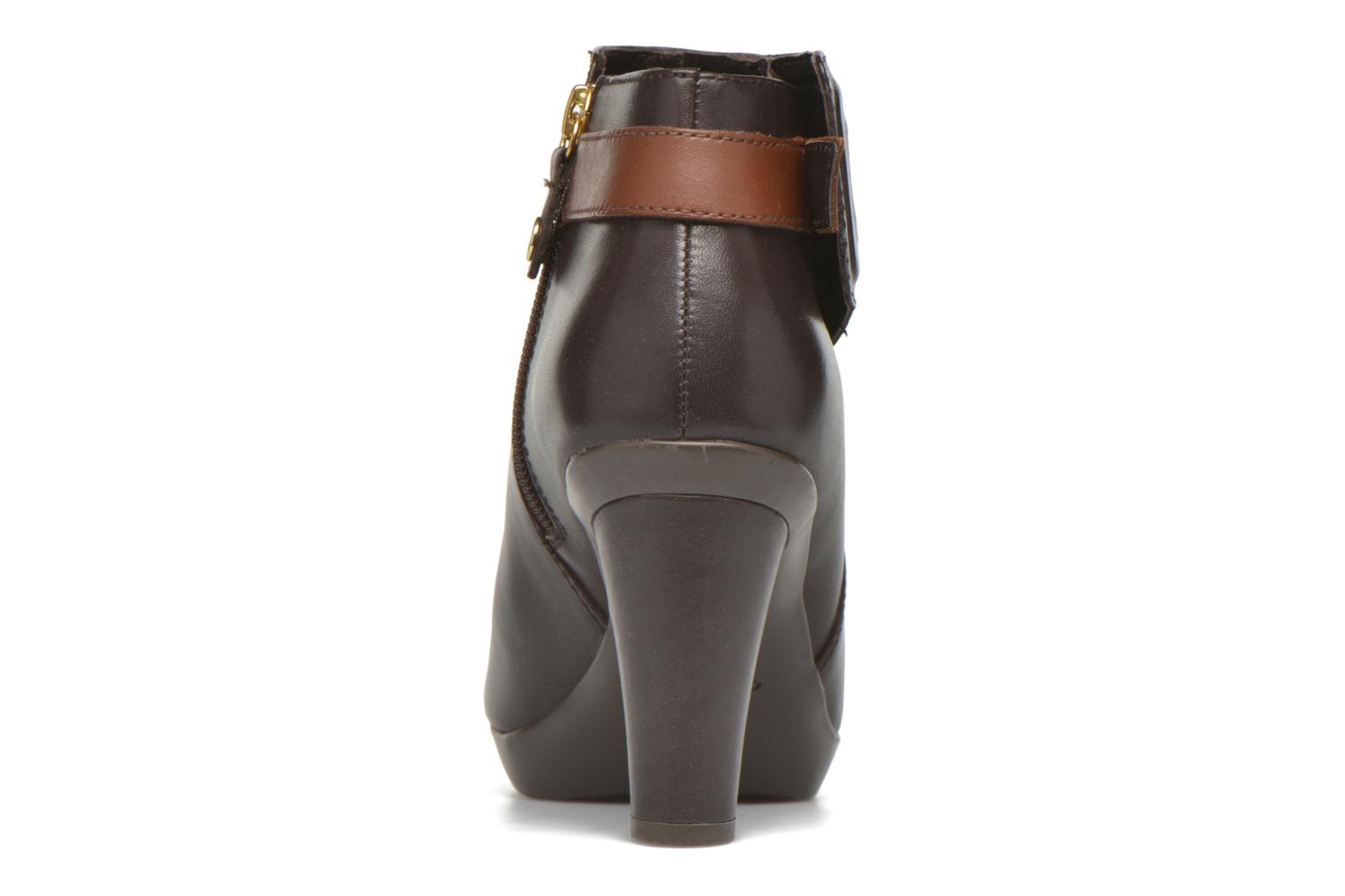 Ankle boots Geox D Inspiration STIV D54G9B Brown view from the right