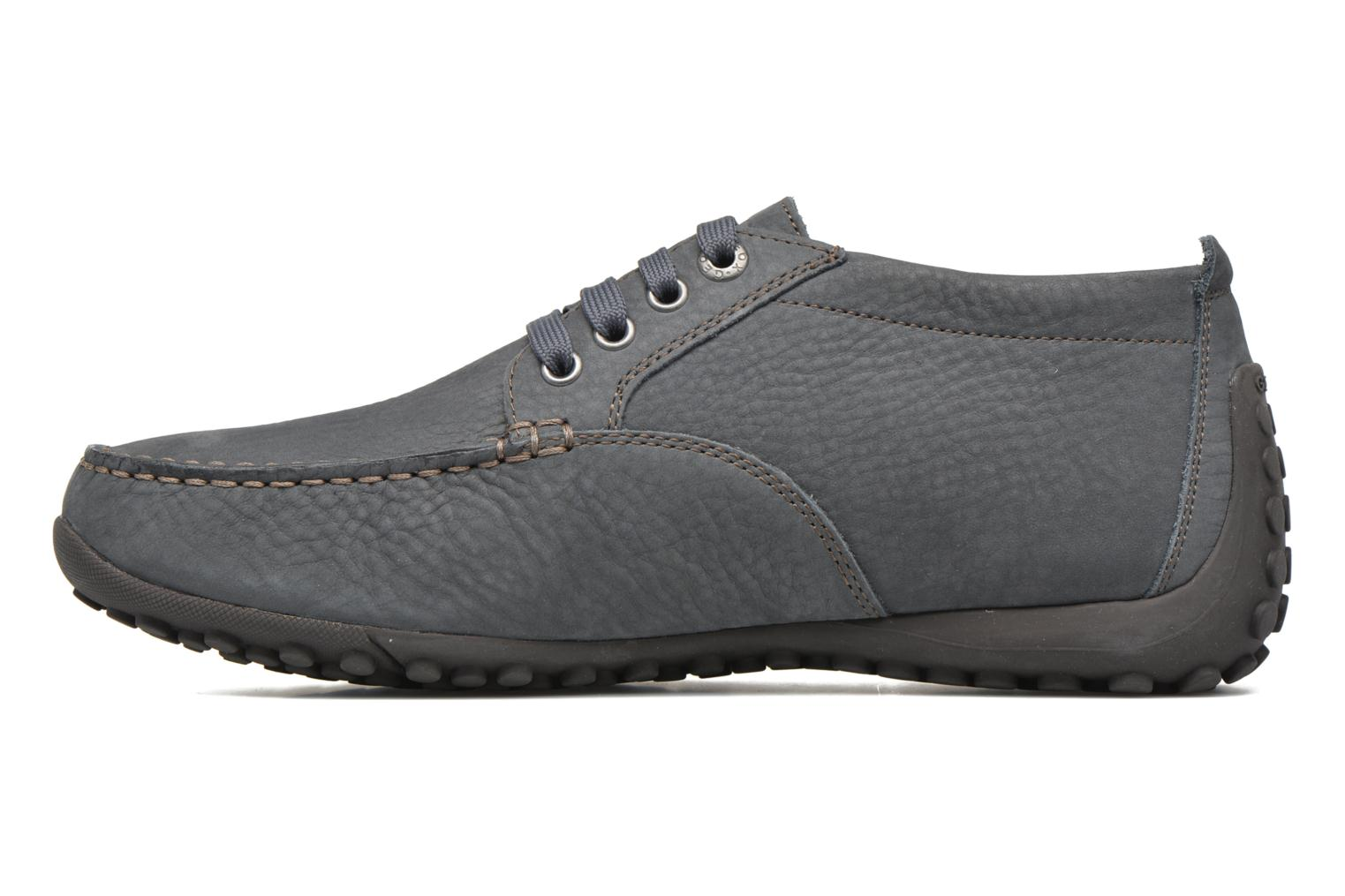 Chaussures à lacets Geox Uomo drive Snake U5402A Bleu vue face