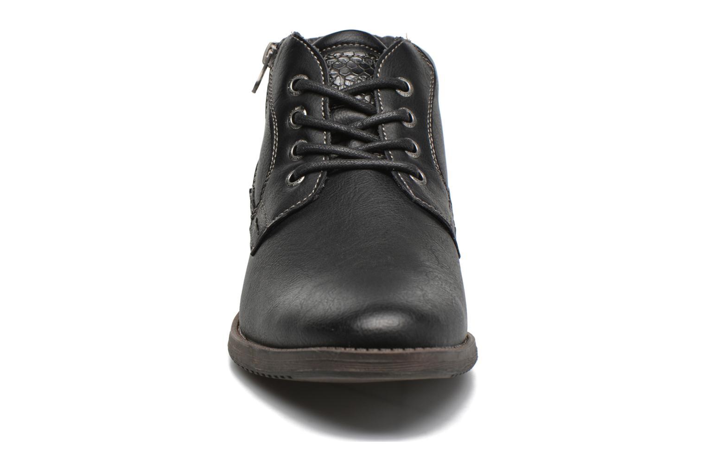 Chaussures à lacets Tom Tailor Etienne Noir vue portées chaussures