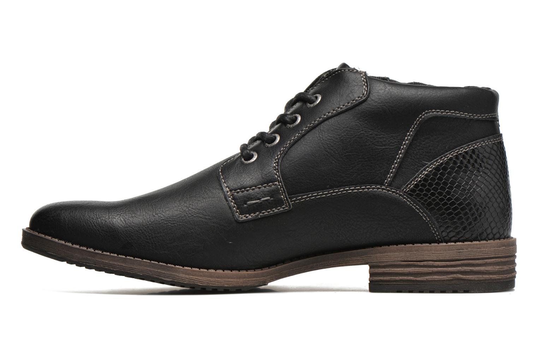 Chaussures à lacets Tom Tailor Etienne Noir vue face