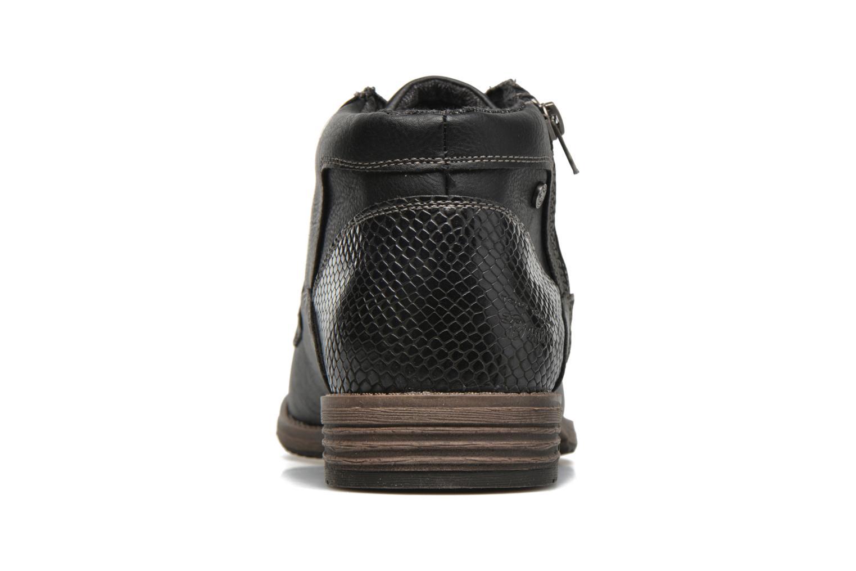 Chaussures à lacets Tom Tailor Etienne Noir vue droite