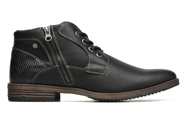 Chaussures à lacets Tom Tailor Etienne Noir vue derrière