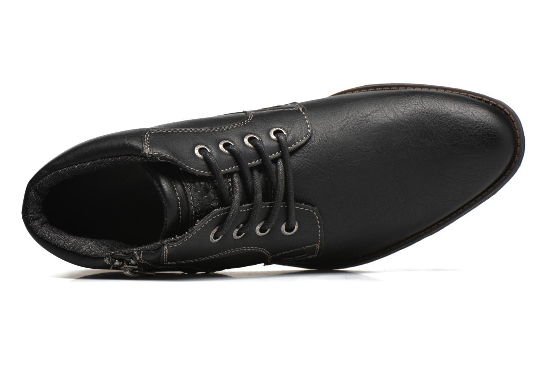 Chaussures à lacets Tom Tailor Etienne Noir vue gauche
