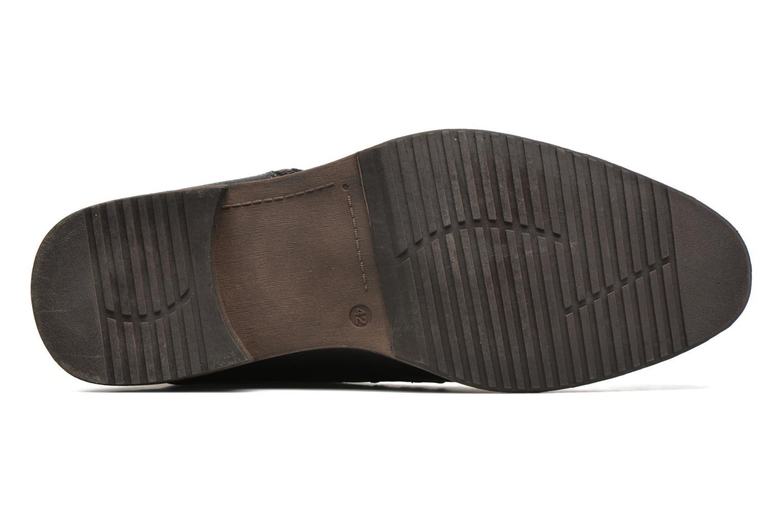 Chaussures à lacets Tom Tailor Etienne Noir vue haut