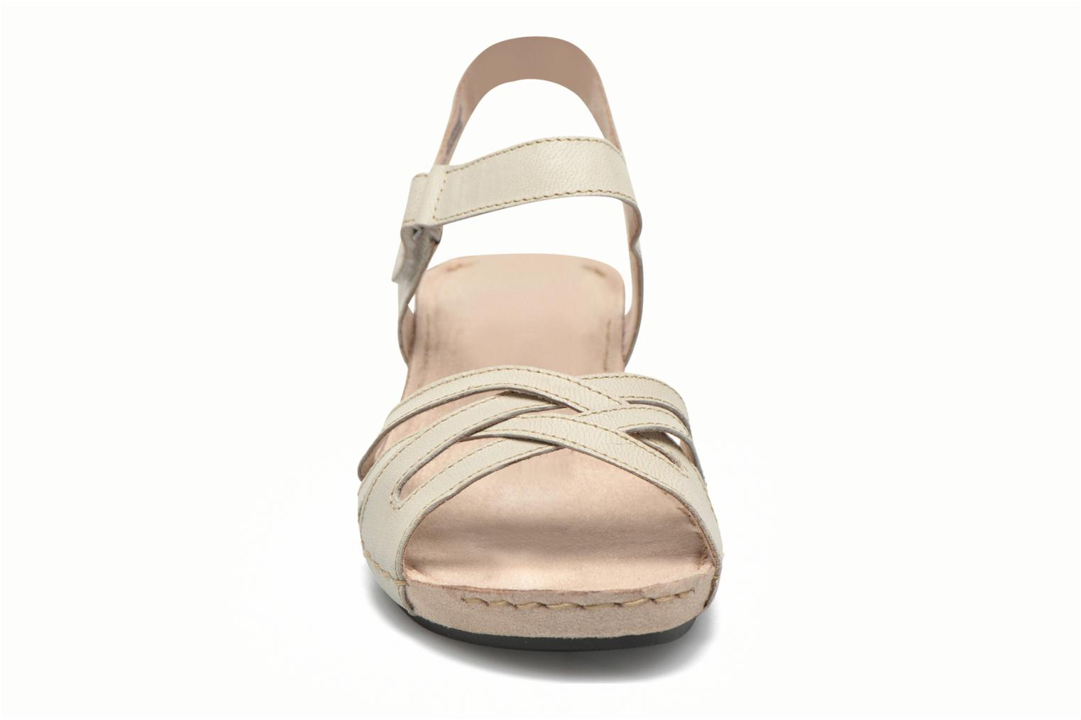 Sandals TBS Cacina White model view